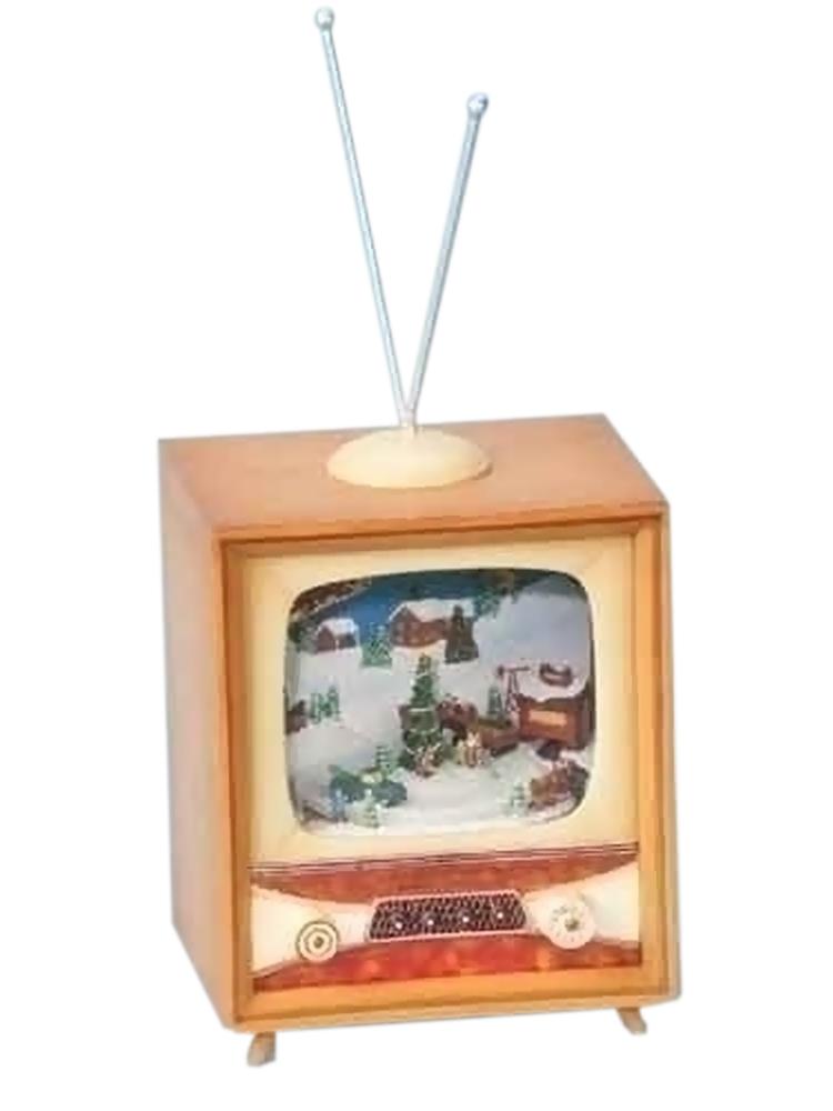 "Iwgac Home Decorative Season Christmas Gift Collectible 5.5"" Farm Tv Music Motion at Sears.com"