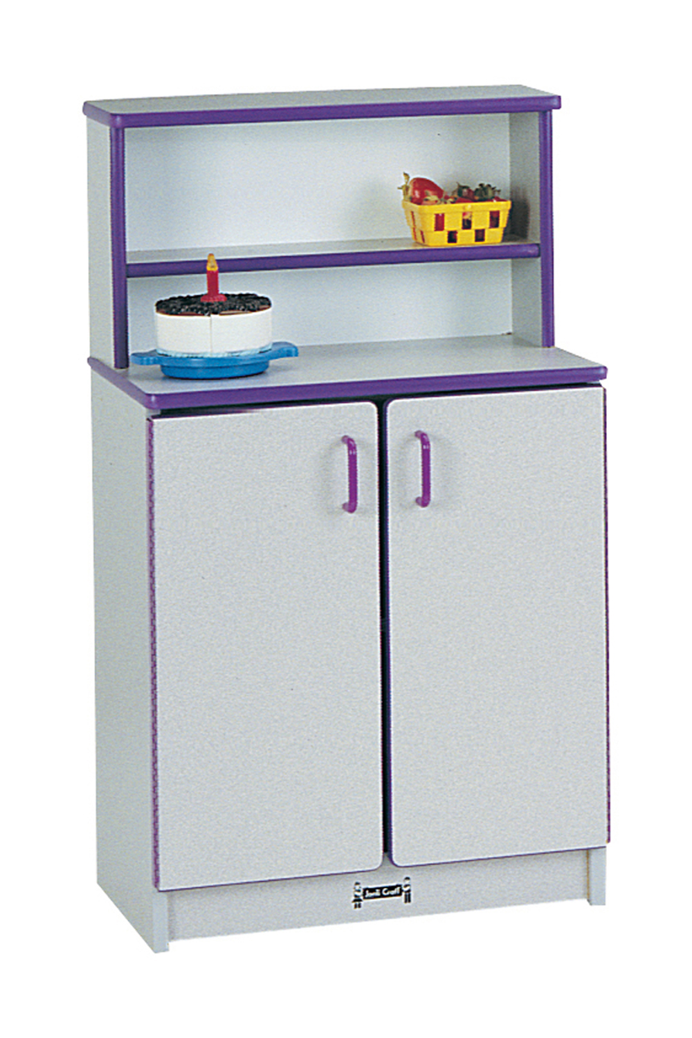 Offex Children Fun Cooking Pretend Play Kitchen Cupboard - Teal