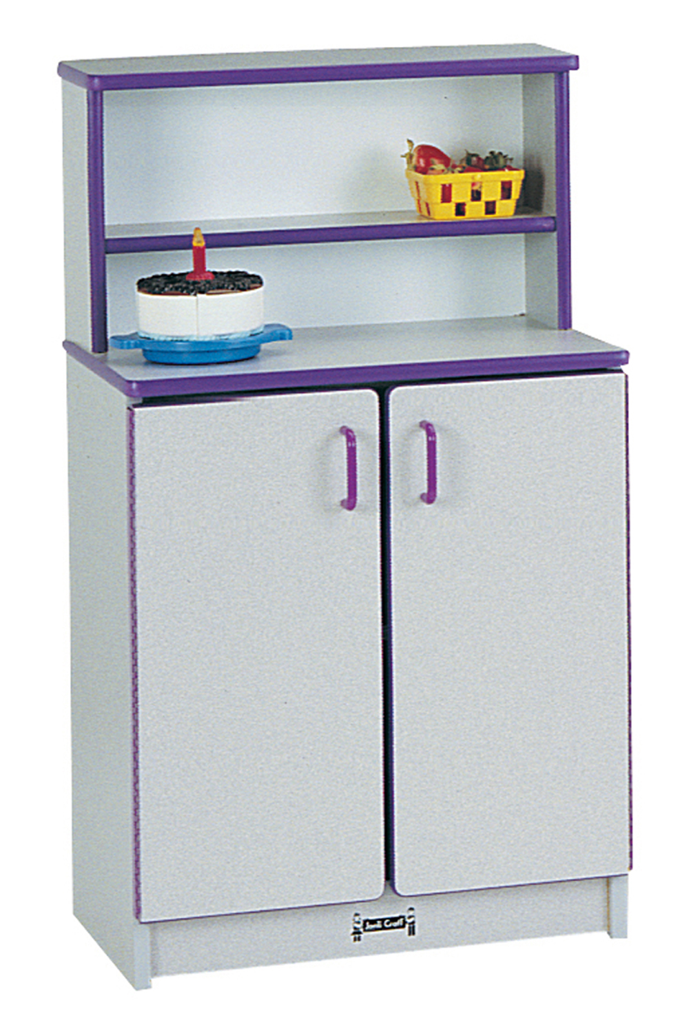 Offex Children Fun Cooking Pretend Play Kitchen Cupboard - Navy