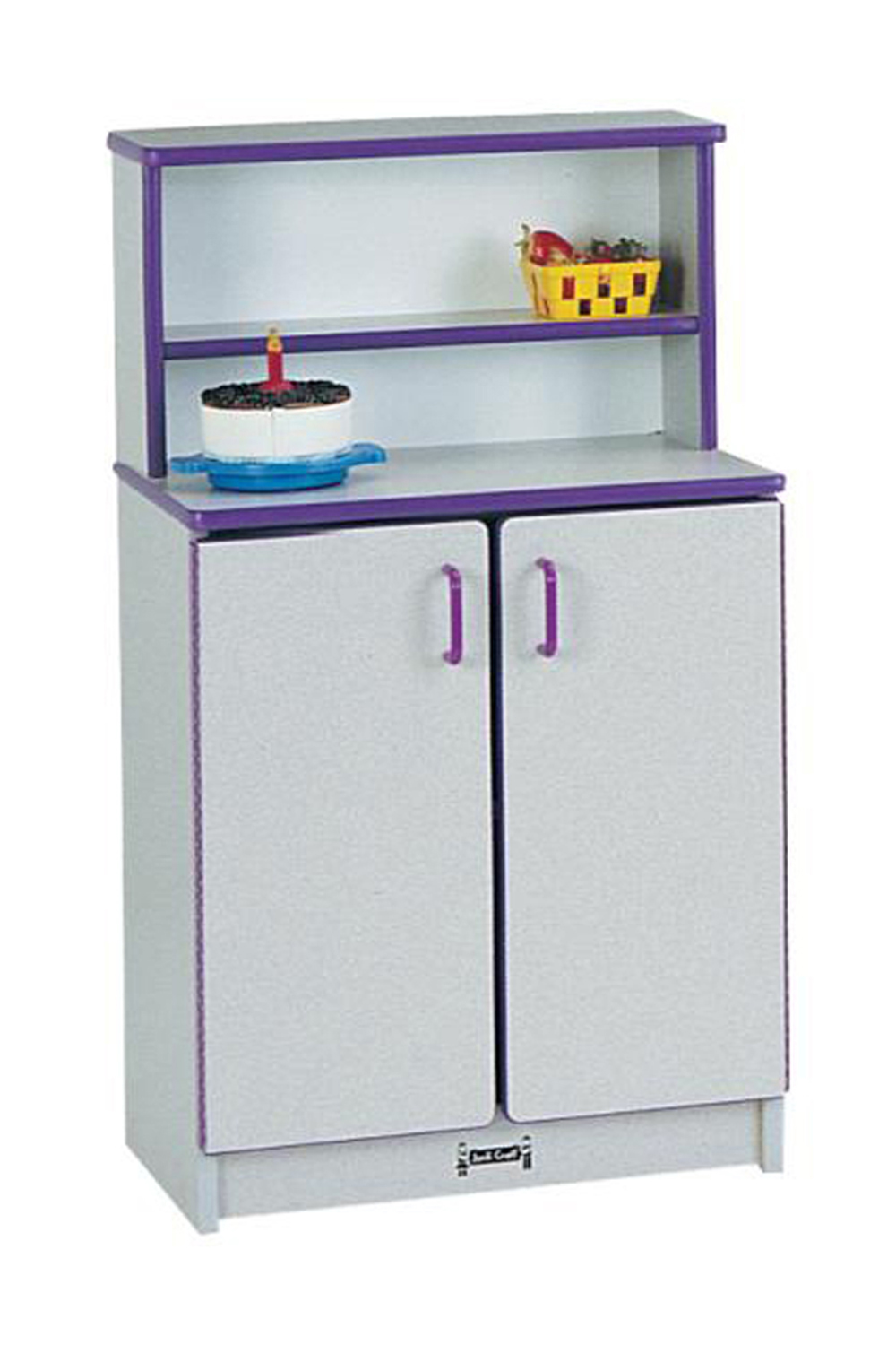 Offex Children Fun Cooking Pretend Play Kitchen Cupboard - Green