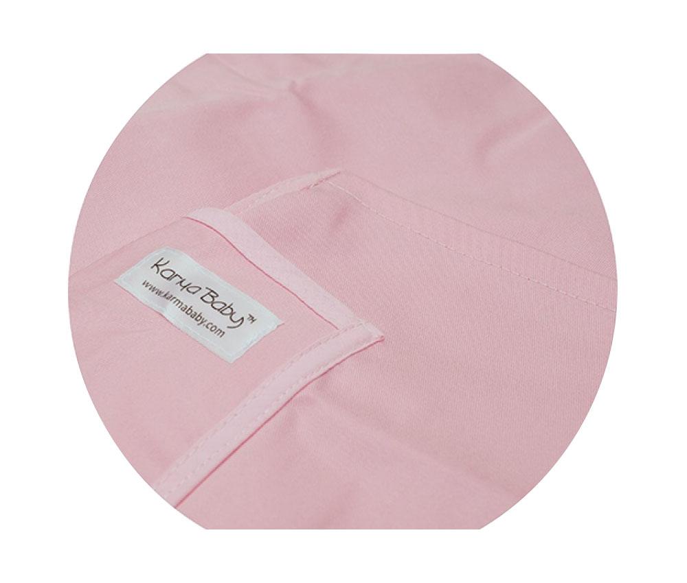 Organic Pink Baby Sling  - Large