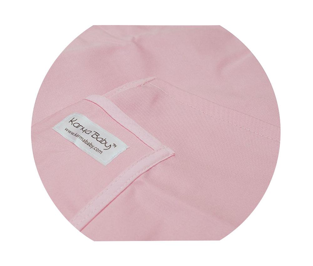 Organic Pink Baby Sling - Medium
