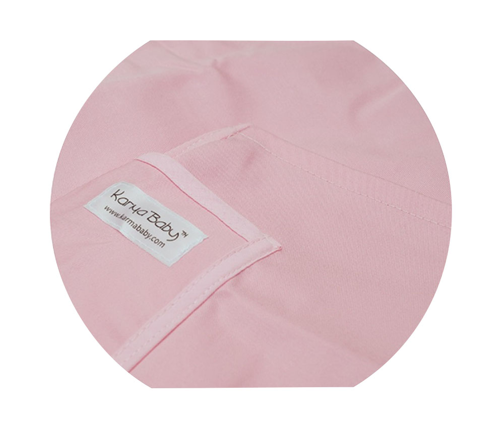 Organic Pink Baby Sling - Small