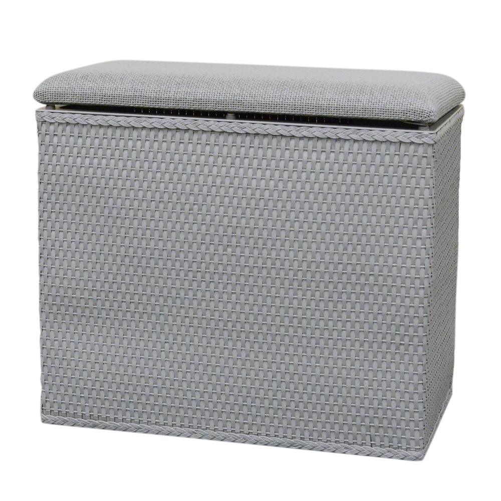Lamont Home Laundry Storage Barrington Bench Hamper Ebay