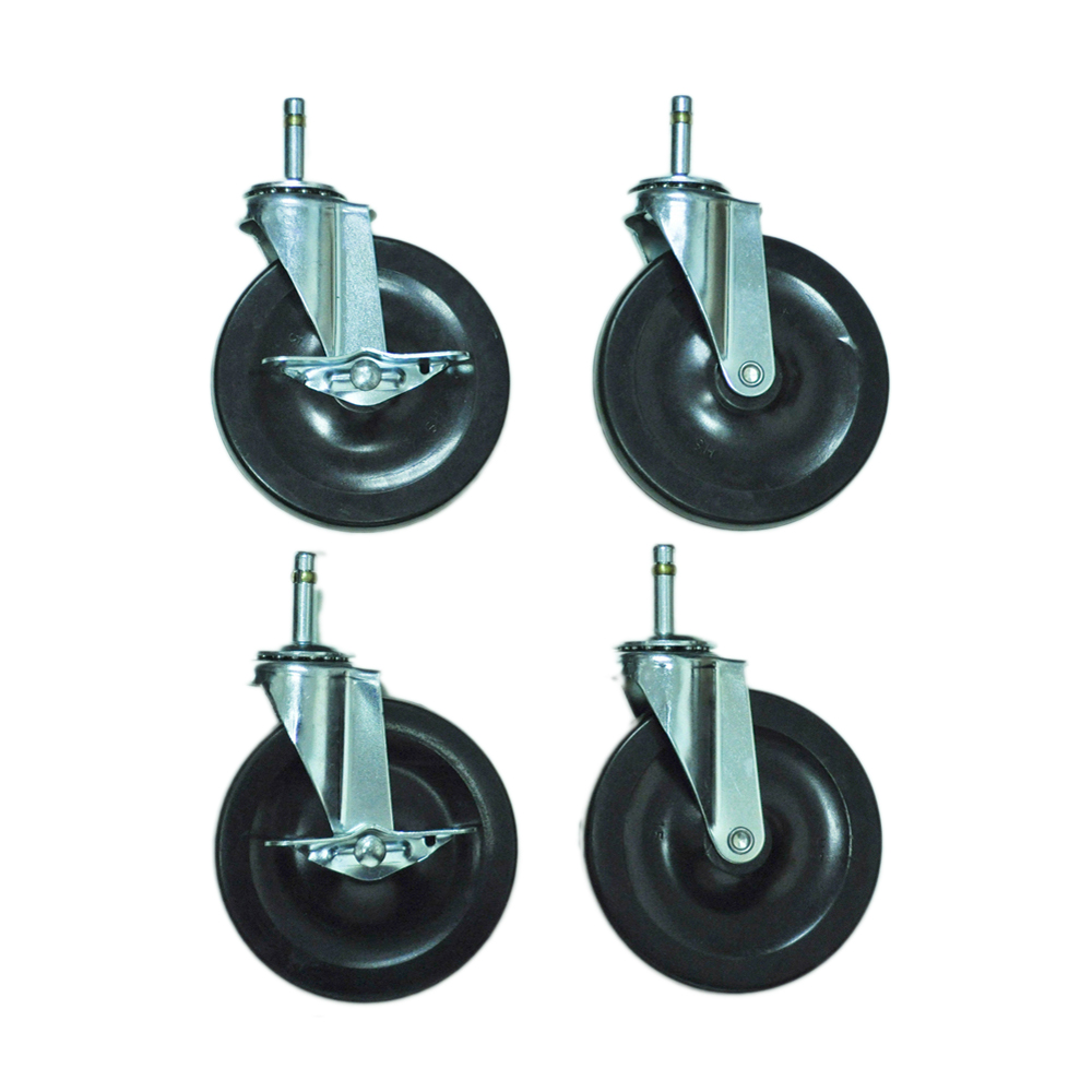 Offex C5 5-inch Heavy Duty Stem Casters
