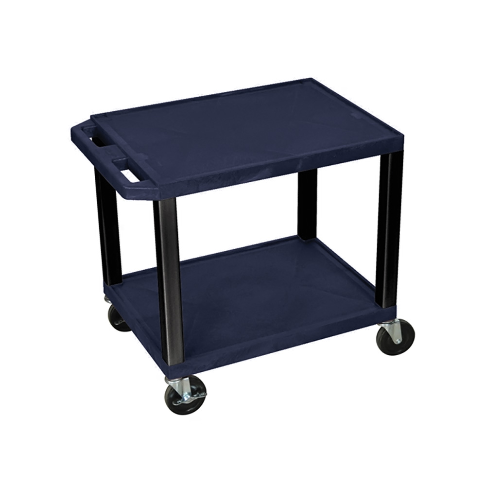 H. Wilson Portable Mobile Multipurpose Kitchen Storage Service Tuffy Utility Cart Topaz and Black at Sears.com