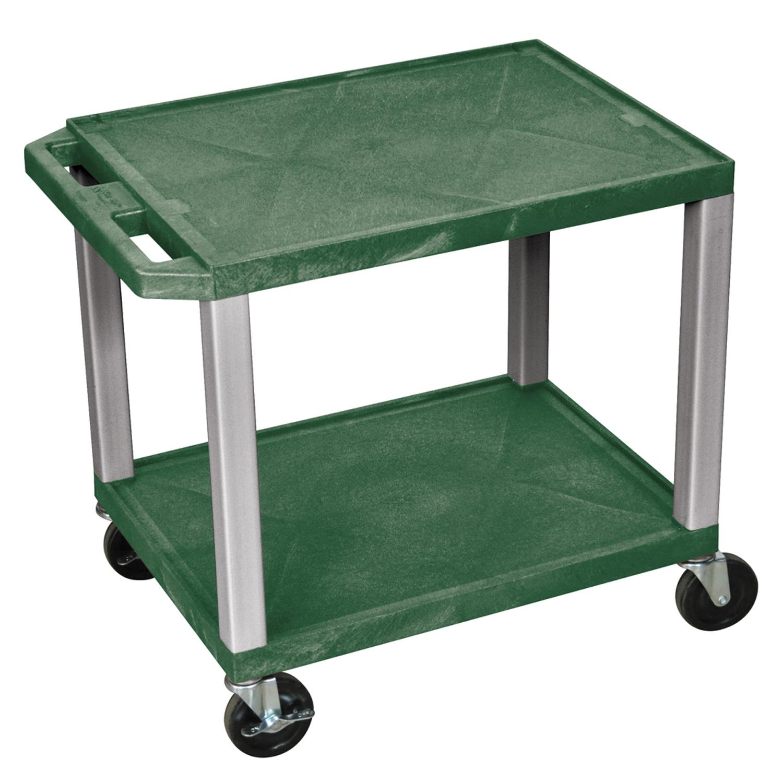 h wilson rolling shelf utility cart with wheels no. Black Bedroom Furniture Sets. Home Design Ideas