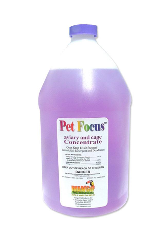 Mango Pet Focus Concentrate Gallons Case of 4M1501