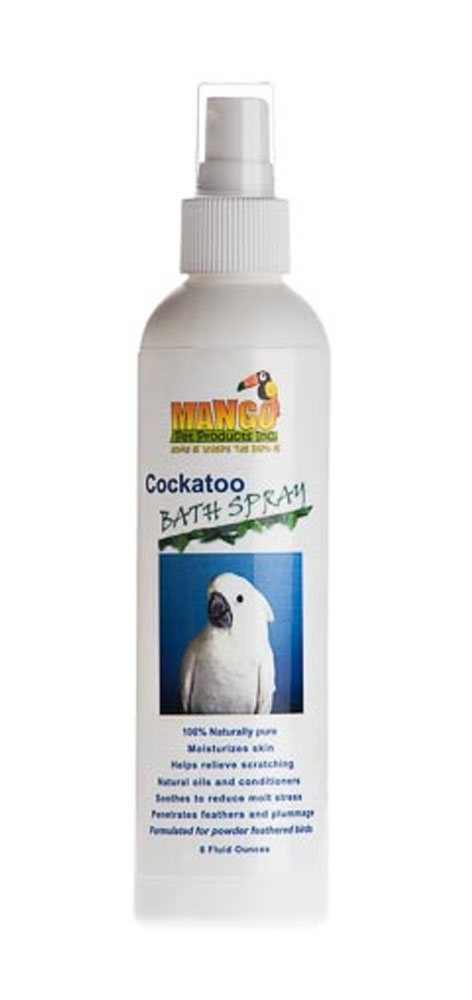 Mango Pet Cockatoo Bath Spray Case of 121556