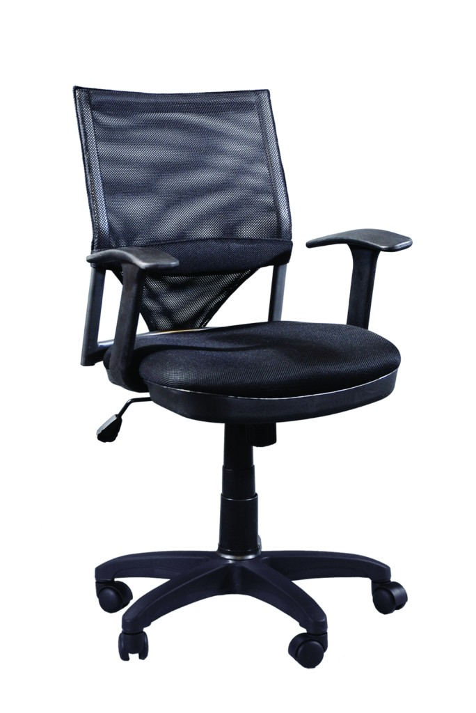 Offex Comfort Mesh Drafting Desk High Seating Executive Office Chair With Casters