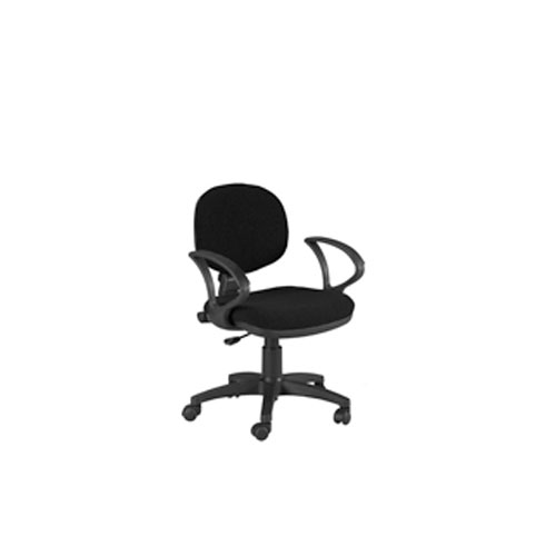 Offex Stanford Desk Height Adjustable Multi-Functional Ergonomic Home / Office Chair with arms and casters in Black