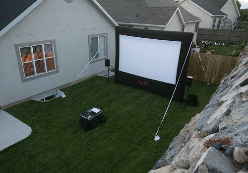 CineBox Home 12x7 Backyard Theater System at Sears.com