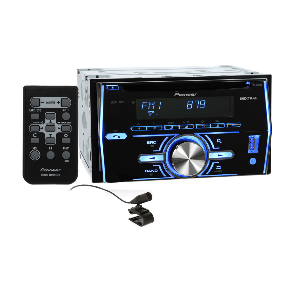 Pioneer Double-DIN Bluetooth Car Stereo Receiver with Pandora Link, MIXTRAX and iPod Support at Sears.com