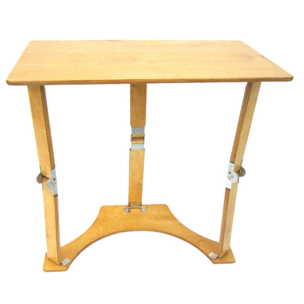 Spiderlegs Tables SpiderLegs Folding Laptop Desk and Tray Table (Golden Oak)