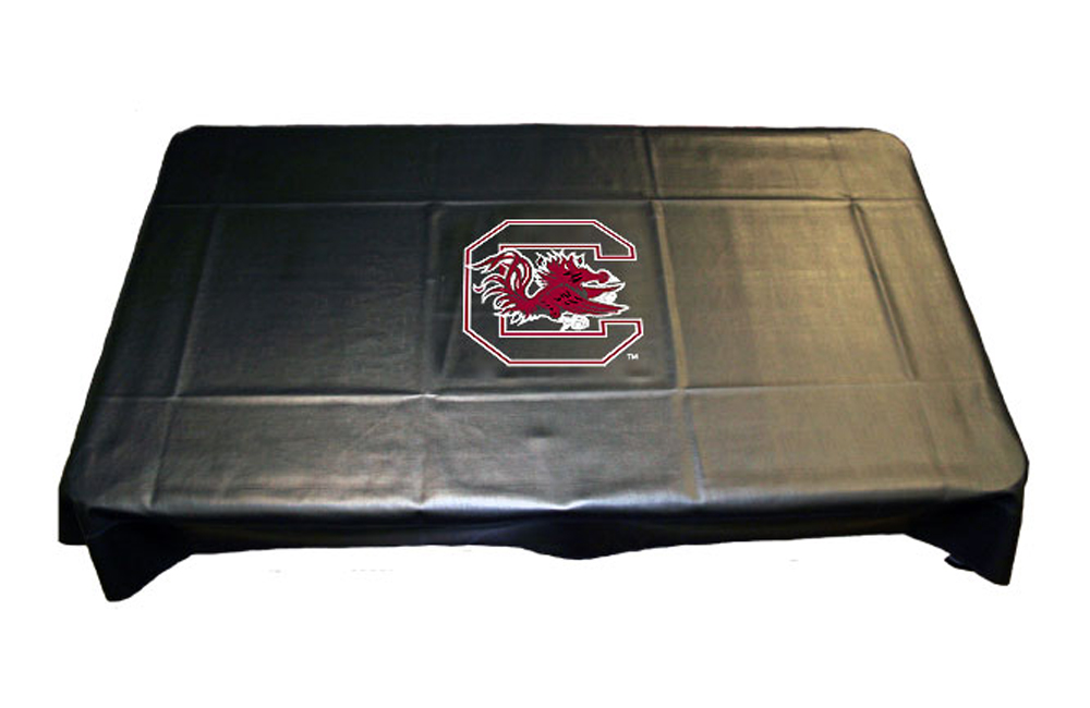 Sports Fan Products Louisiana State Univ Collegiate Billiard Outdoor Travel Pool Table Cover in Universal Fit - Black