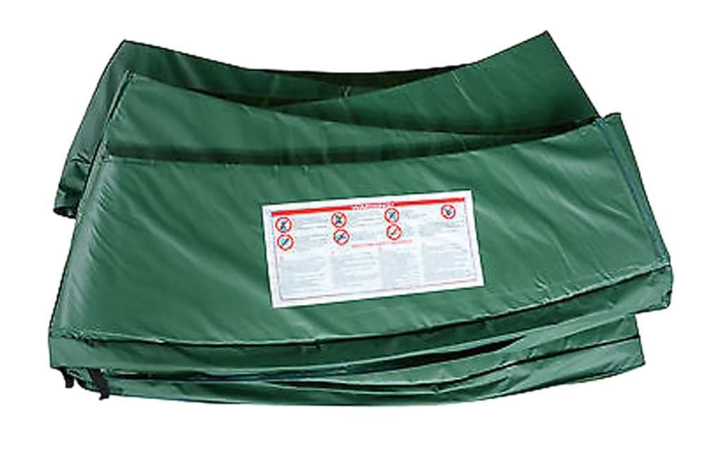 Super Trampoline Standard Safety Pad (Spring Cover) For 15ft Trampoline - Green at Sears.com