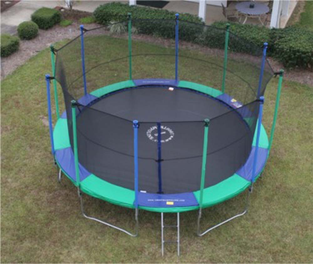 trampoline 16 ft. HUGE Round AirMaster Trampoline with Enclosure - UV protection at Sears.com