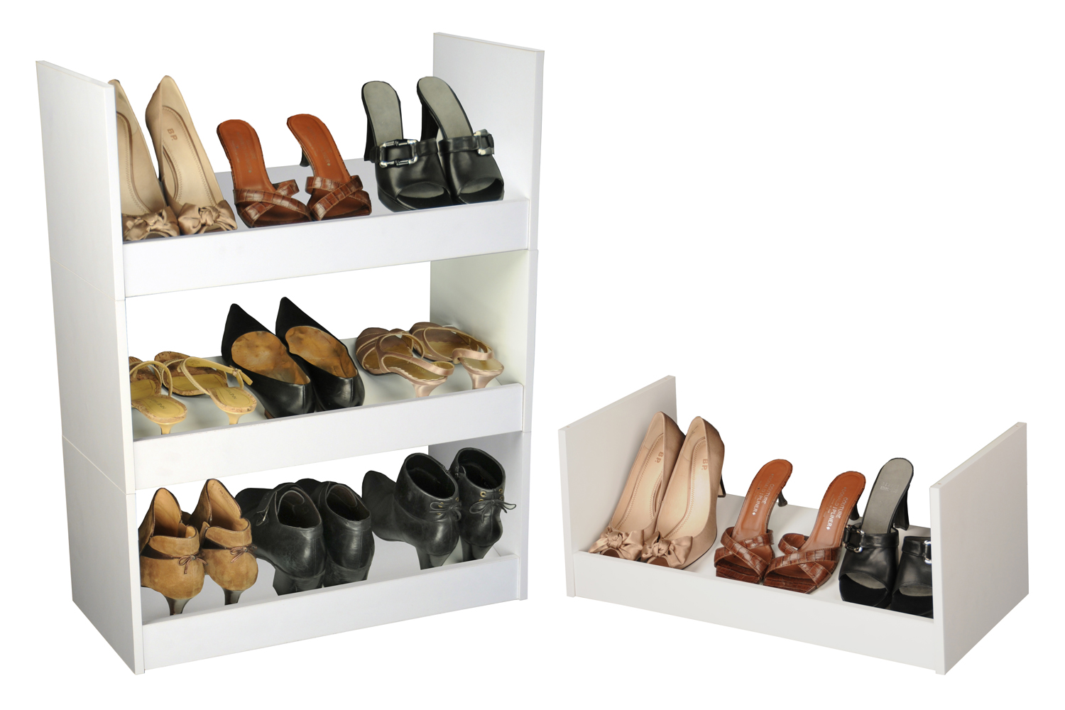 Venture Horizon Stackable Shoe Racks- White at Sears.com
