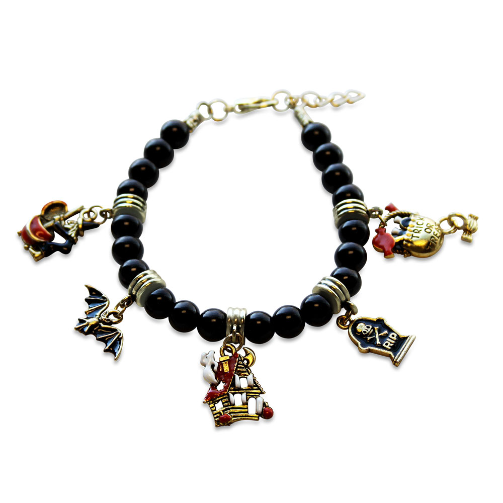 halloween-charm-bracelet-in-gold