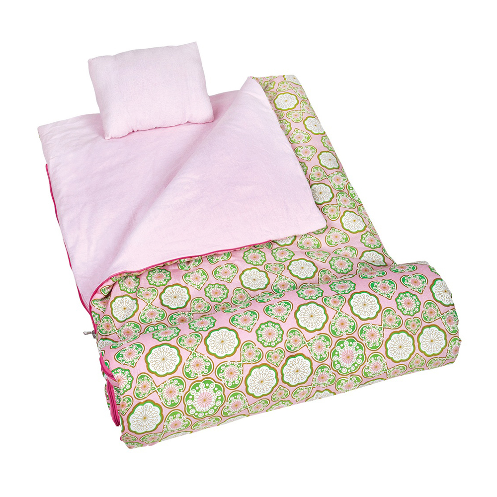 Wildkin Kids Outdoor Camping Travel Picnic Tote Majestic Sleeping Bag Pink at Sears.com