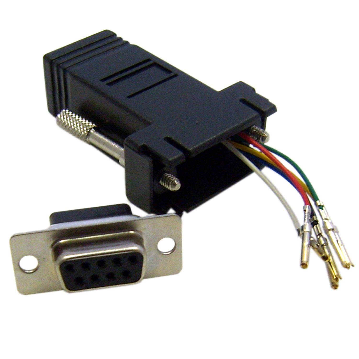 Rj12 Jack Wiring Diagram Library Rj45 Db9 Cisco Console Cable To Modular Adapter Black Female