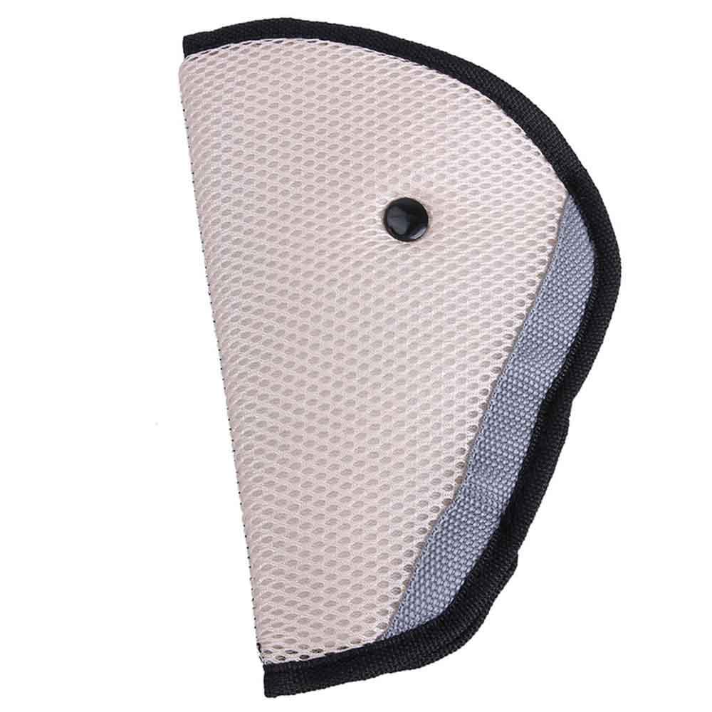 Triangle Kids Automobile Seat Belt Adjuster - Beige