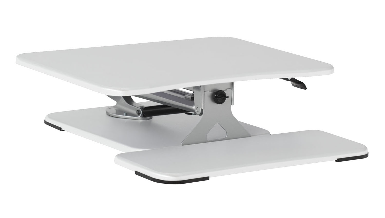 Studio Lift 26 Quot Height Adjustable Desk In White