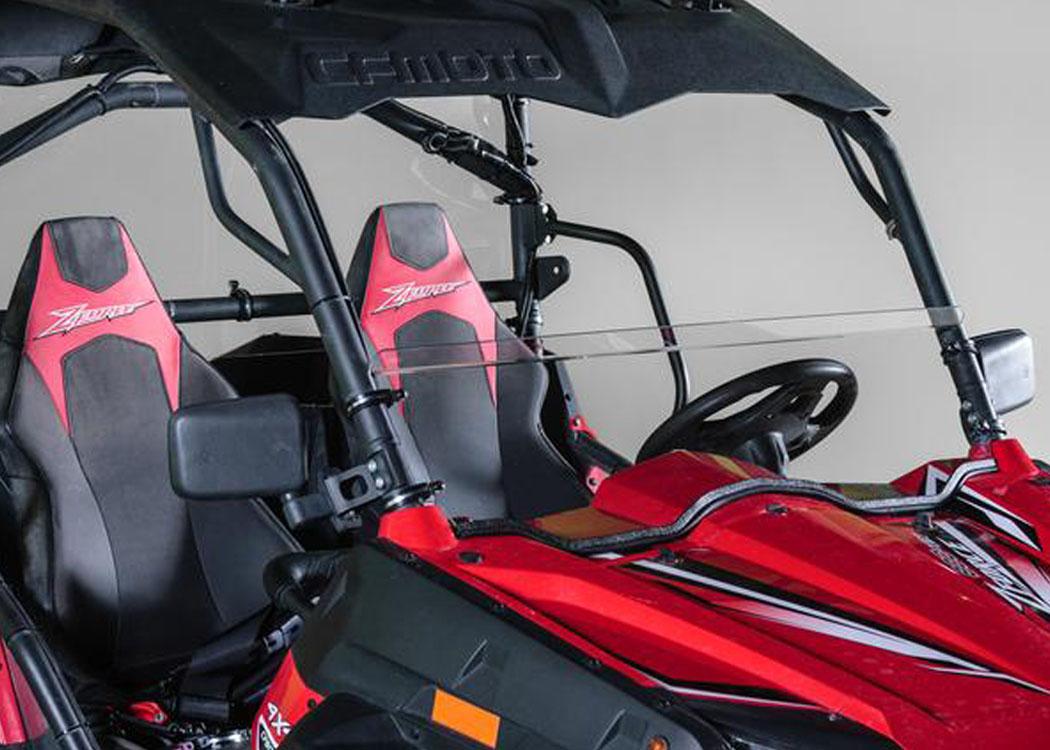"""CF Moto Z Force Full UTV Windshield 3//16/"""""""